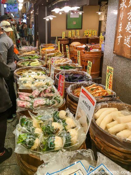 Nishiki Market japan travel with tom and priscilla schmidt