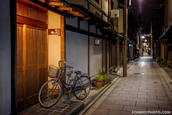 Wander with Tom Kyoto Night Images