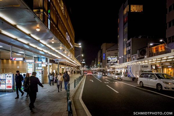 Travel with Tom Schmidt to Japan Kyoto Night Images
