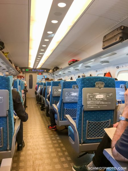 Travel with Tom Kyoto Japan 2016 Shinkansen