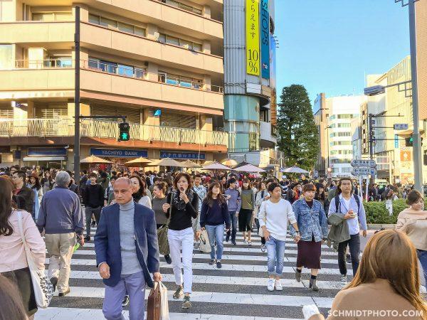 Harajuku Japan crowded street - 52