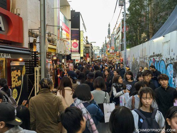 Harajuku Japan crowded street - 20