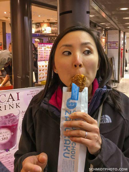 Harajuku snacks subway station