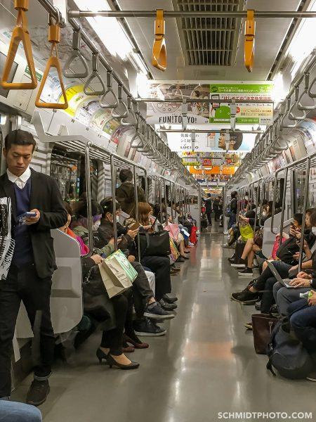tokyo subway riders tom schmidt phtoo